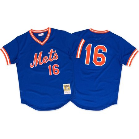 Dwight Gooden New York Mets Mitchell & Ness Authentic 1986 BP Jersey by