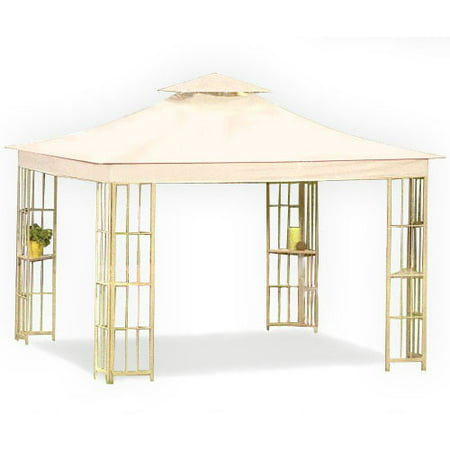 Garden Winds Replacement Canopy Top for Lowes S-J-109 Gazebo - Riplock 350
