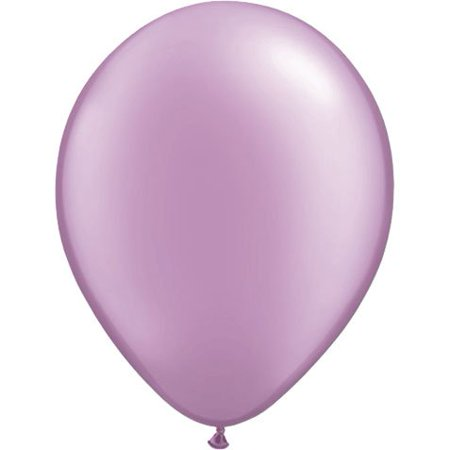 Qualatex 5 Round Balloons Lavender Pearl Pack Of 100 Walmartcom