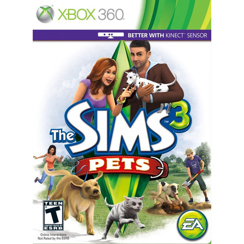 Sims 3: Pets (Xbox 360)