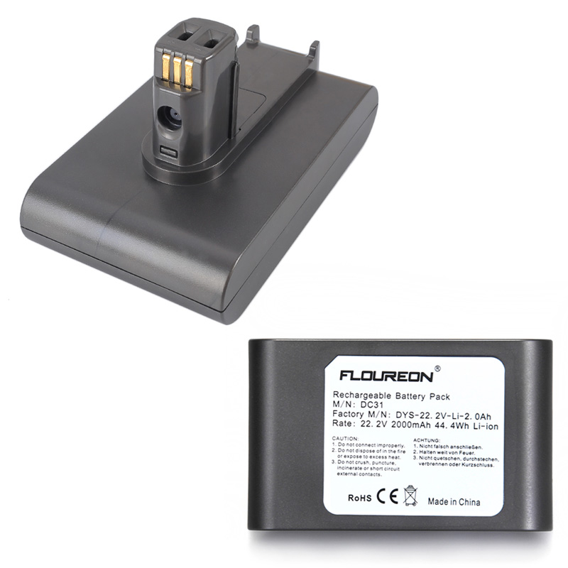 Floureon Battery Pack 6-Cell for Dyson DC31 DC34 DC35 Han...