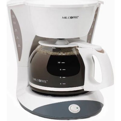 Mr. Coffee DW12 12-Cup Switch Coffeemaker White