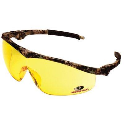 Mossy Oak Safety Glasses  Camo / Indoor/Outdoor Clear-Mirror