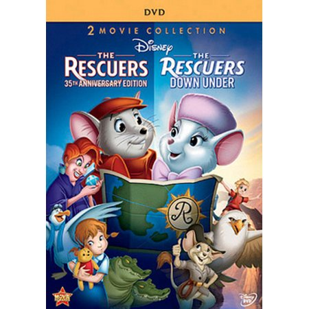 The Rescuers / The Rescuers: Down Under (DVD)