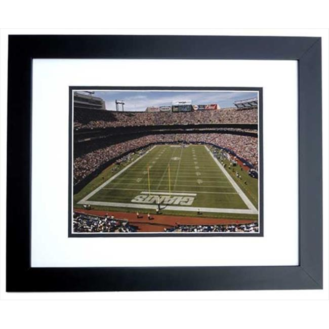 New York Giants Stadium Unsigned 8X10 Inch Photo Black Custom Frame