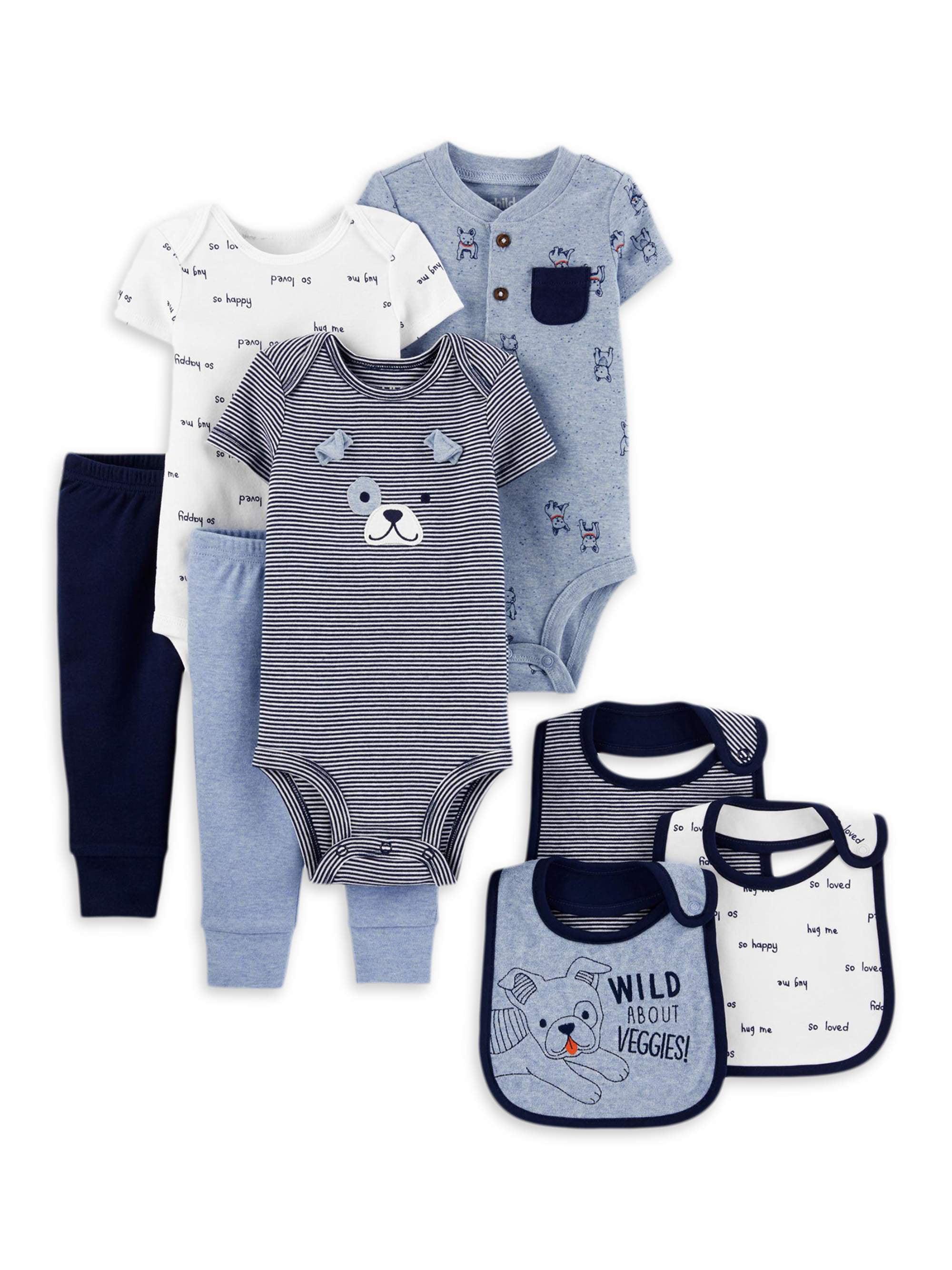 Z Baby Interlock Set Bears Ecru Baby Mixed Clothing Set