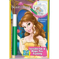 DISNEY'S Princess Magic Pen Painting Book: Beauty and the Beast Coloring Book