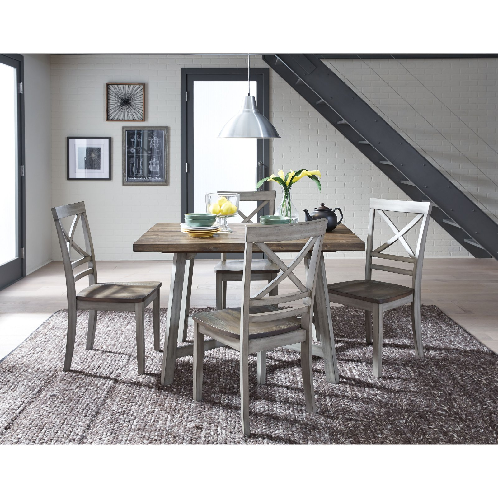 Standard Furniture Fairhaven 5 Piece Dining Table Set