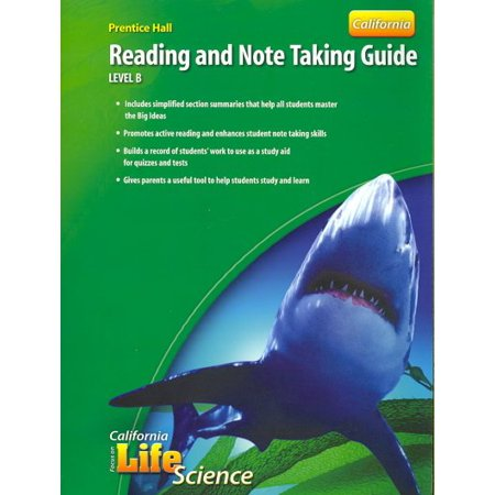 Focus on Life Science Reading and Note Taking Guide Level B California