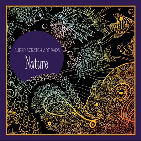 Super Scratch Art Pads: Nature - Scratch Paper Art