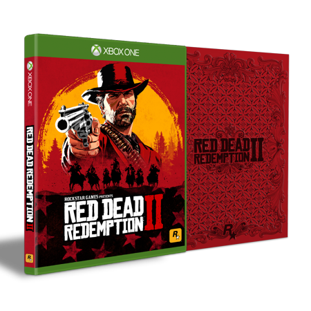 Red Dead Redemption 2 Steelbook Edition, Rockstar Games, Xbox One, 710425590481
