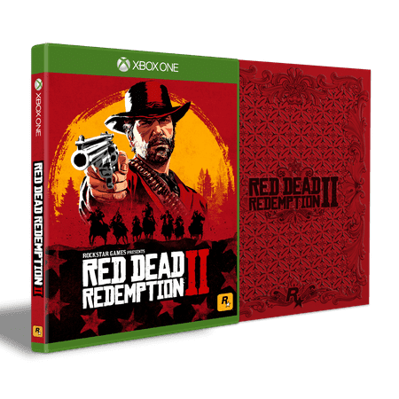 Red Dead Redemption 2 Steelbook Edition, Rockstar Games, Xbox One,