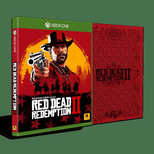 Red Dead Redemption 2 Steelbook Edition Rockstar Games Xbox One 710425590481 Walmart Com Walmart Com