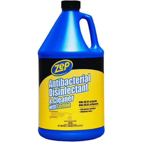 Zep Commercial Anti-Bacterial Disinfectant Cleaner, 1 gal