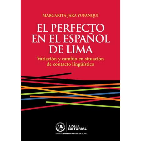 El perfecto en el español de Lima - eBook