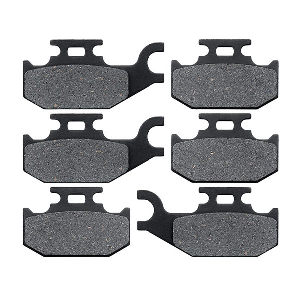 KMG Front Rear Brake Pads for 2009-2011 Arctic Cat 1000 H2 Prowler XTZ Non-Metallic Organic NAO Brake Pads Set