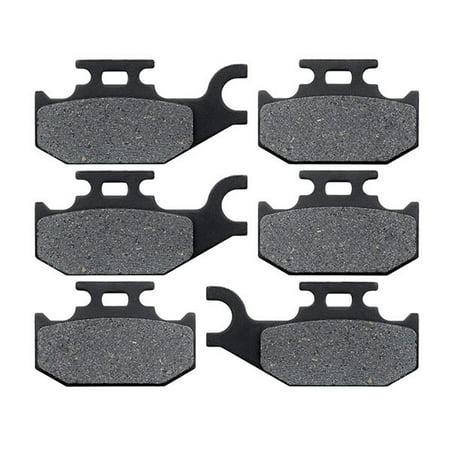 KMG Front + Rear Brake Pads for 2009-2010 CAN AM Outlander 800 R XT - Non-Metallic Organic NAO Brake Pads Set - image 4 of 4