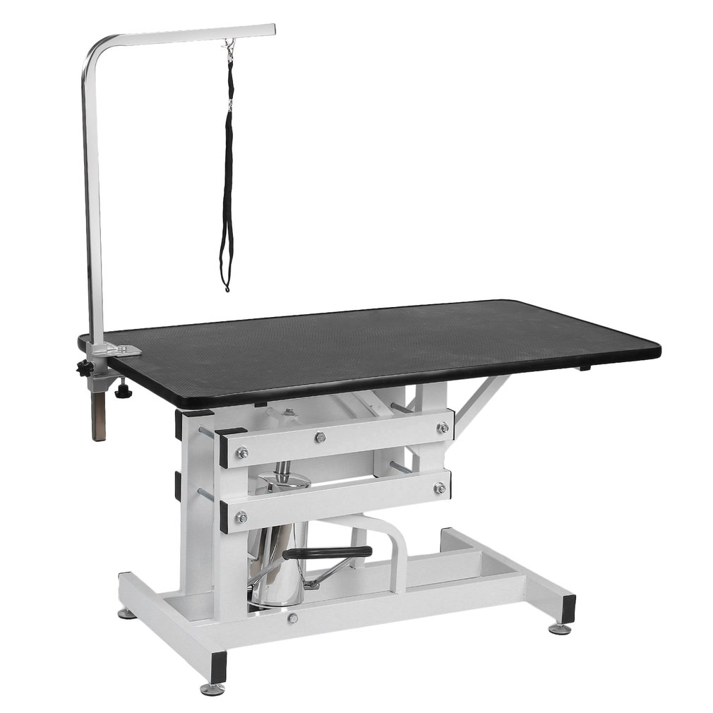 Z-Lift Hydraulic Pet Grooming Table With Arm Adjustable H...