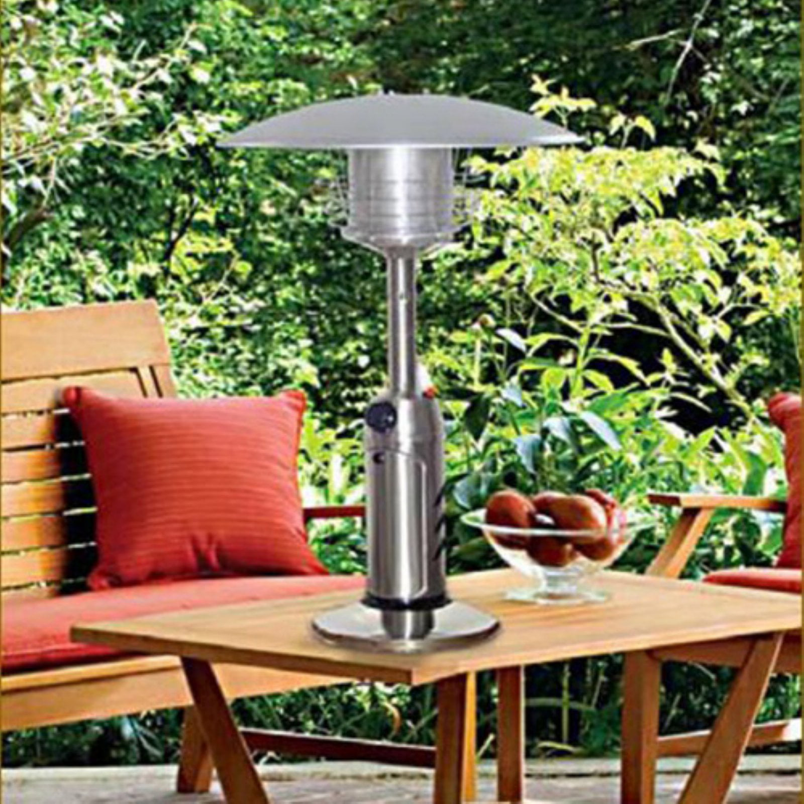 AZ Patio Heater Portable Stainless Steel Tabletop Heater by Patio Heaters