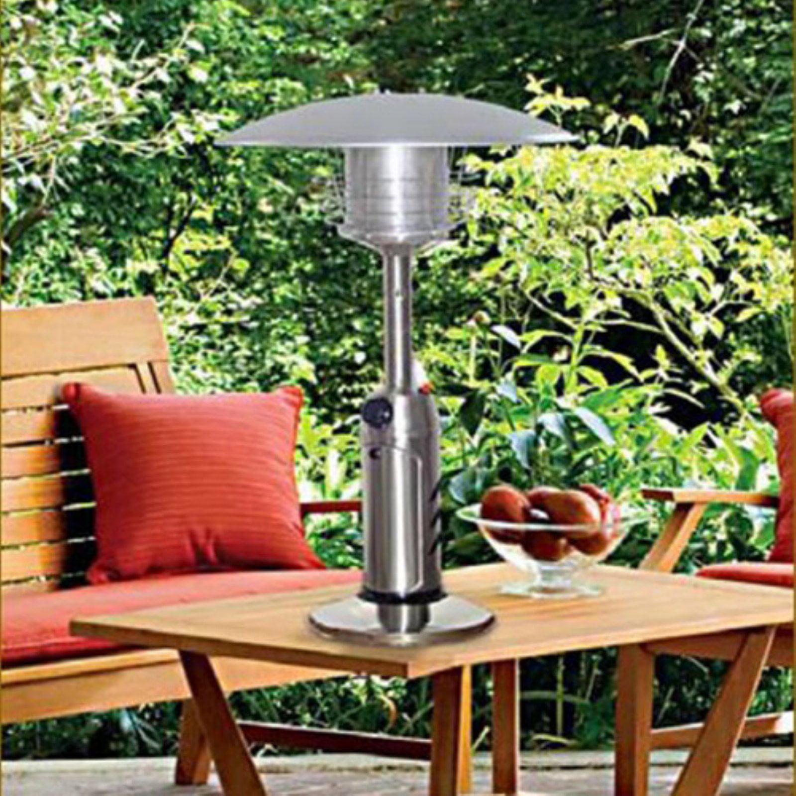 AZ Patio Heater Portable Stainless Steel Tabletop Heater