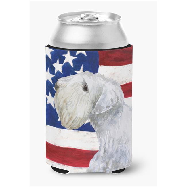 Carolines Treasures BB9684CC Sealyham Terrier Patriotic Can or Bottle Hugger - image 1 de 1