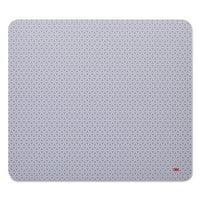 3M Precise Mouse Pad, Nonskid Back, 9 x 8, Gray/Bitmap -MMMMP114BSD1