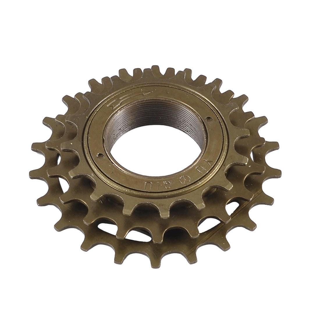 Metal Three Speed Sprocket Threaded Freewheel for Racing Bicycle