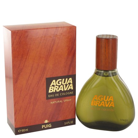 Antonio Puig AGUA BRAVA Eau De Cologne Spray for Men 3.4 -
