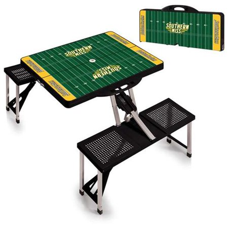 Picnic Table Sport - Black (Southern Miss Golden Eagles) - image 1 of 1