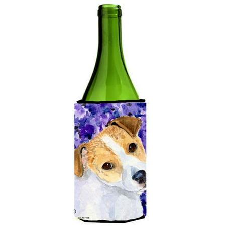 Jack Russell Terrier Wine bottle sleeve Hugger - 24 Oz. - image 1 de 1