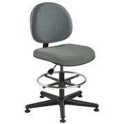 "BEVCO Task Chair 23"" to 33""H, Gray, V4507MG-GR"