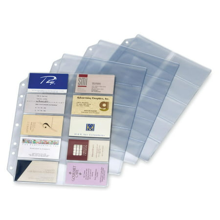Style Business Card Files Refill - Cardinal EasyOpen Card File Binder Refill Pages