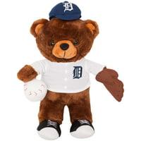 Detroit Tigers Locker Room Buddy Dress Me Plush Bear Kit