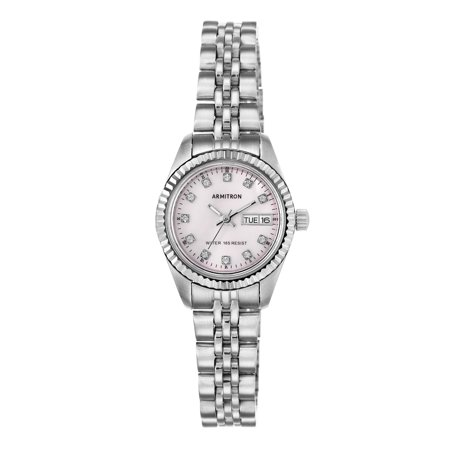 Ladies' Armitron Round Casual Watch, Pink