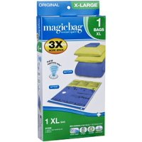 MagicBag Original Flat Instant Space Saver Storage - Extra Large - Double Zipper - 1 Pack