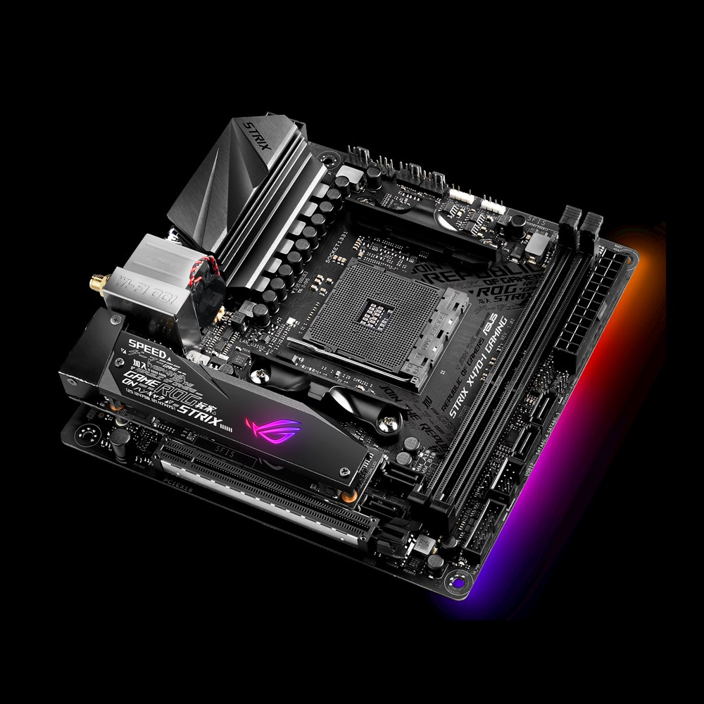 Asus Rog Strix X470-I Gaming Motherboard - ROG STRIX X470-I GAMING