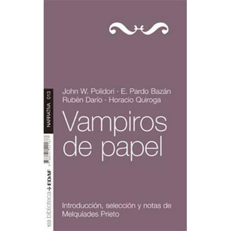 VAMPIROS DE PAPEL - eBook - Fantasia De Vampiro Para Halloween