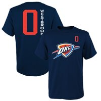 6c43a94abd1 Product Image Youth Russell Westbrook Navy Oklahoma City Thunder Name &  Number T-Shirt