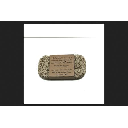 Soap Lift Bar Soap Saver 1/4 in. H x 4-1/2 in. W x 3 in. L Bone Bio