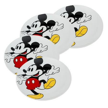 vandor llc disney mickey mouse ceramic 10 3 dinner plate set of 4
