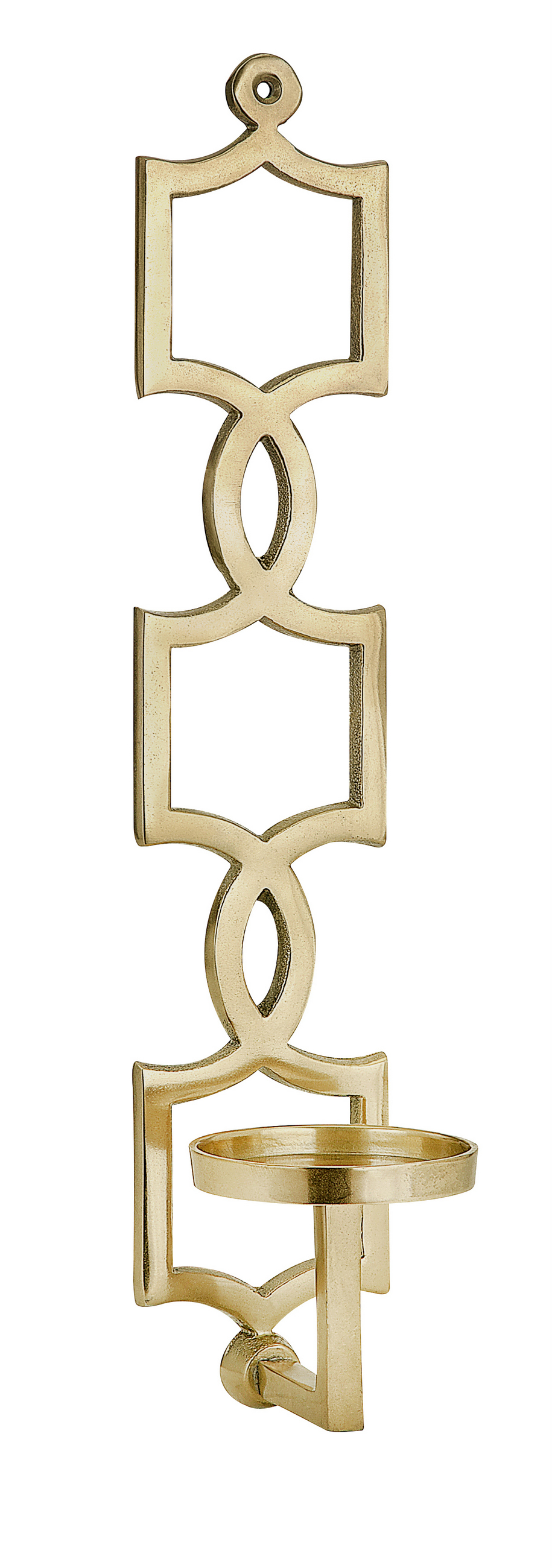 Click here to buy Alluring Sadie Gold Wall Sconce by Benzara.