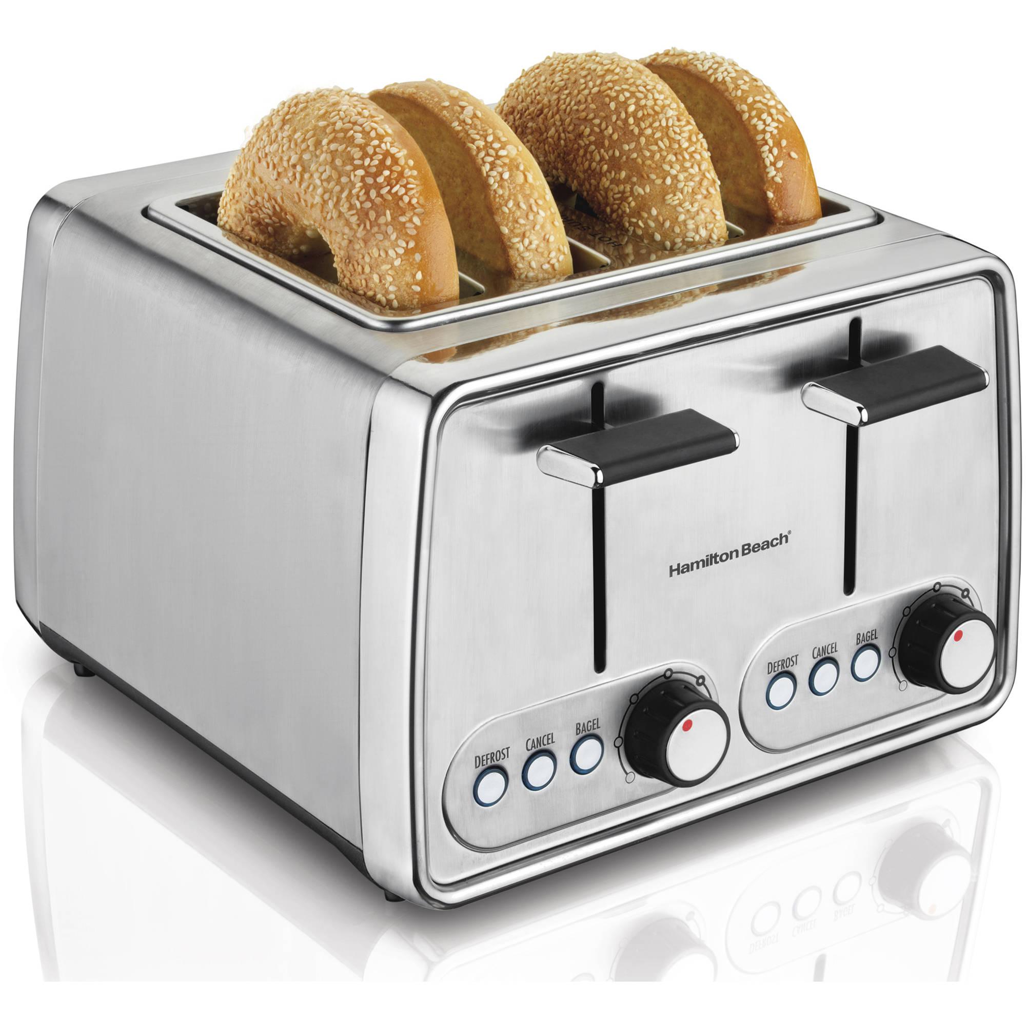 Refurbished Hamilton Beach 4 Slice Modern Toaster | Model# R24781