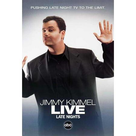 Jimmy Kimmel Live POSTER B Mini Promo - Jimmy Kimmel Live Halloween Prank