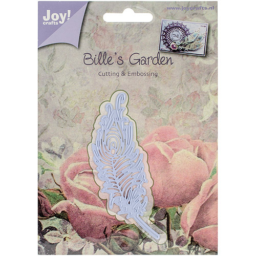 "Joy! Crafts Cut and Emboss Die, Feather, 1.125"" x 4"""