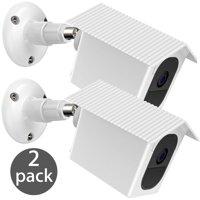 EEEKit 2-Pack 360 Degree Indoor Outdoor Wall Ceiling Mount Bracket Weatherproof Protective Cover Case for Arlo Pro 2/Pro Security Camera