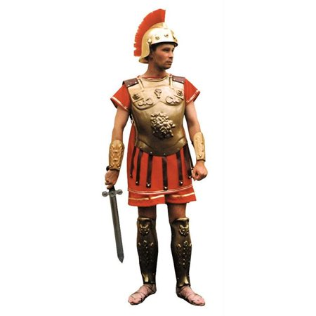 - Costumes For All Occasions Ab154 Roman Armour Gold Wash