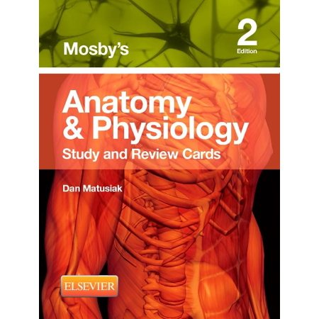 Mosby\'s Anatomy & Physiology Study and Review Cards - Walmart.com