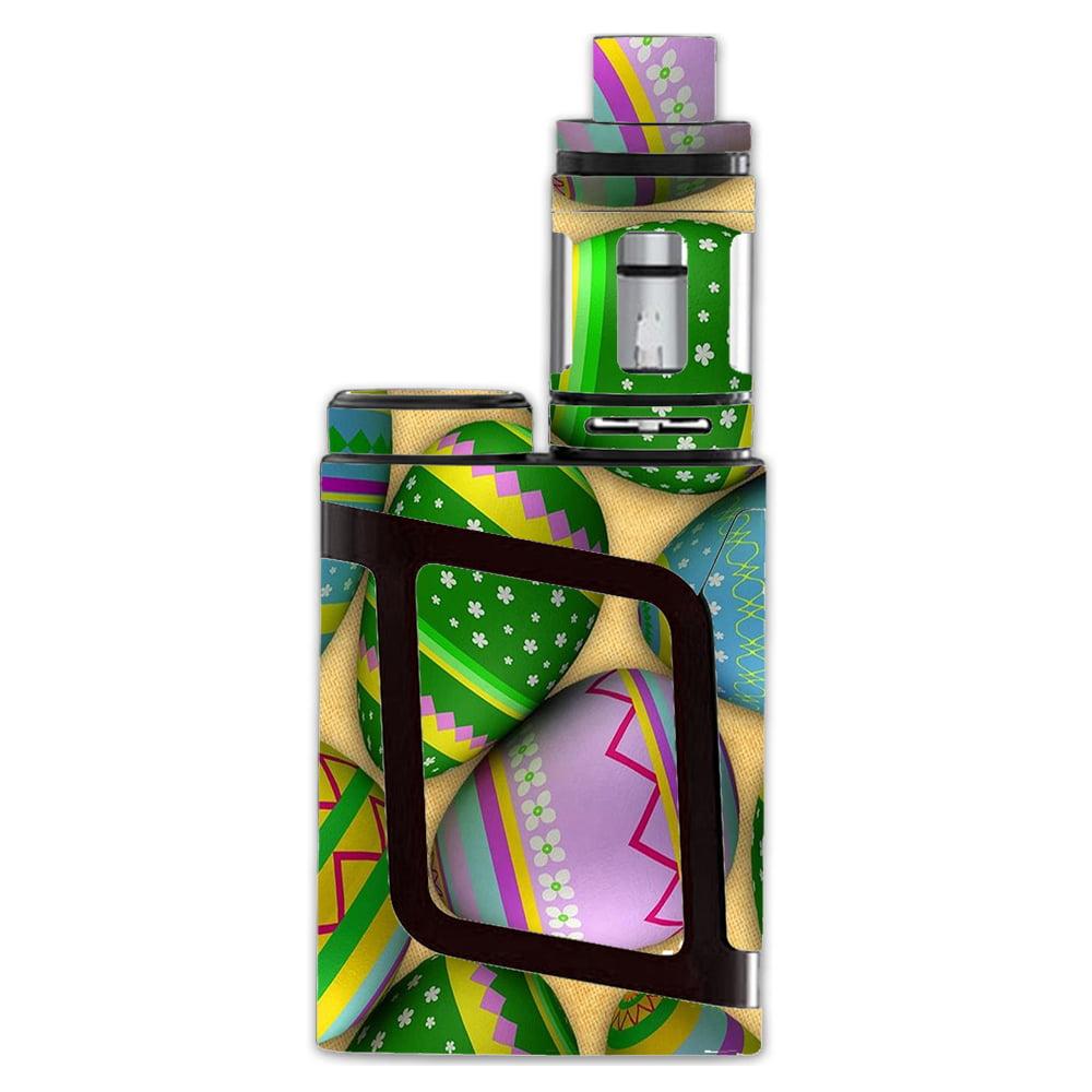 Skins Decals For Smok Al85 Alien Baby Kit Vape Mod / Easter Eggs Painted