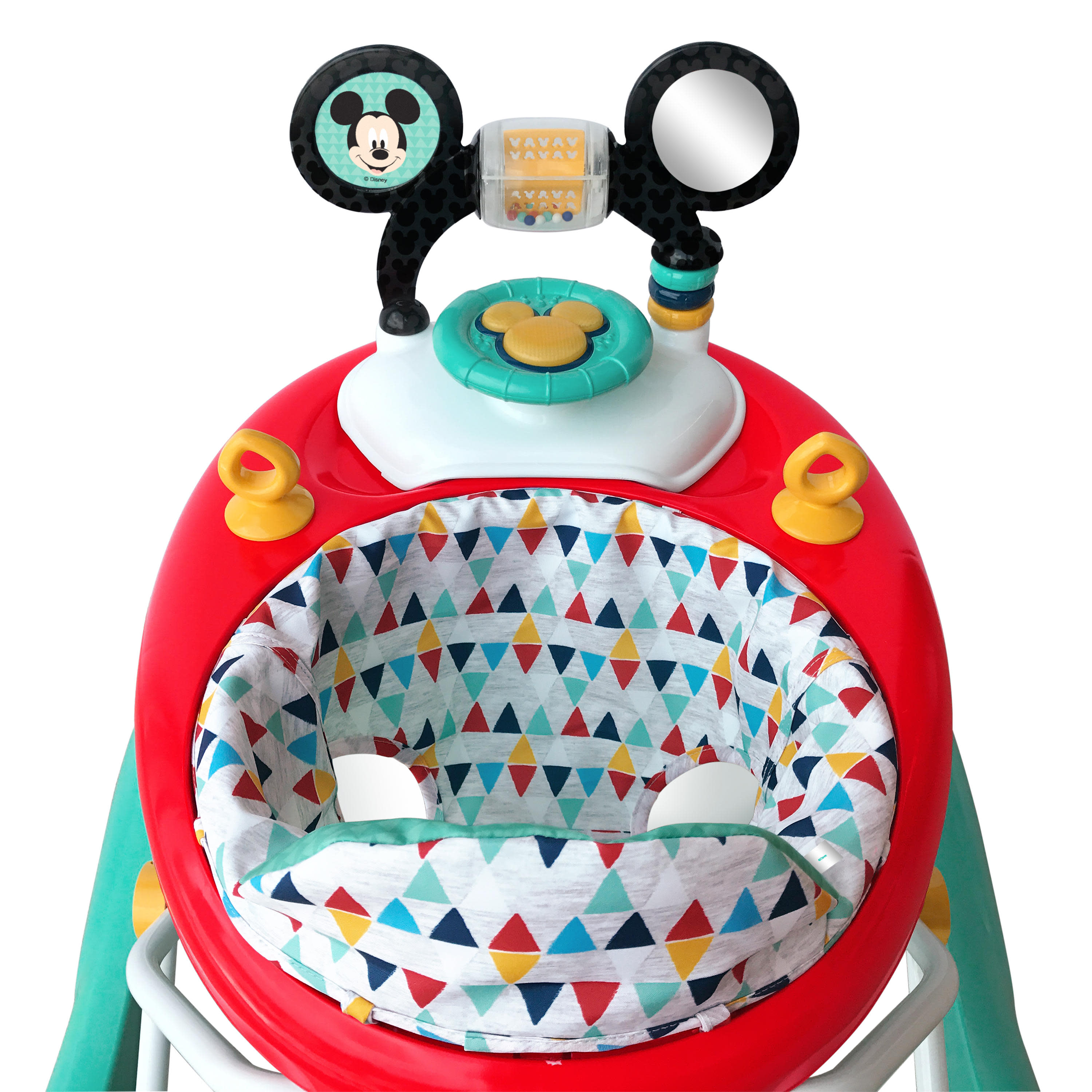 Happy Bright Starts Disney Baby Mickey Mouse Baby Walker with Activity Station