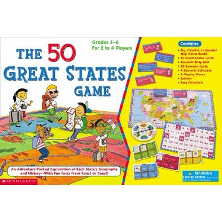The 50 Great States Game